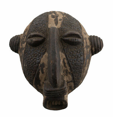 Masquette Terracotta Fetish Pasport Divination Art African Tribale 6508