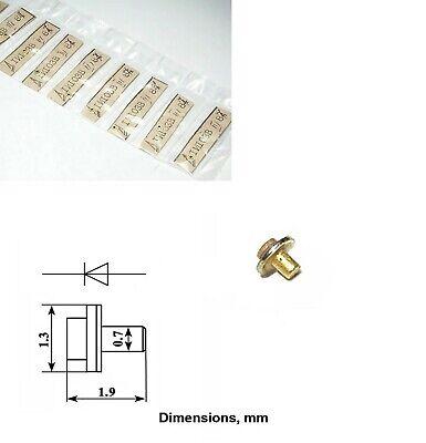 2 Pcs Varactor Diode Gaas 3a410d 0.42 - 0.56pf 3 - 30ghz Ussr Nos