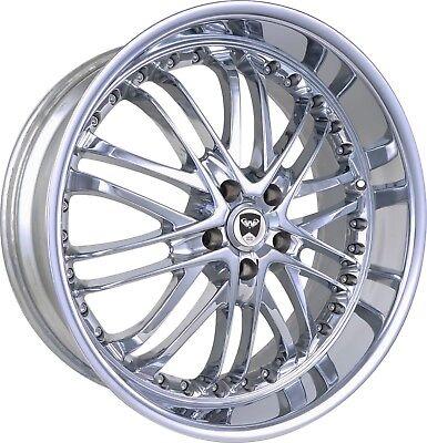 4 GWG Wheels 18 inch Chrome Lip AMAYA Rims fits ACURA MDX 2014 - 2018