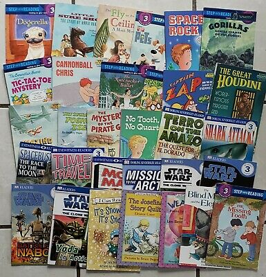 LOT of 31 Level 3 Readers DK I Can Read STEP INTO READING Hello Reader!