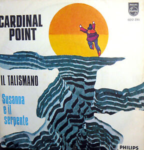 "CARDINAL POINT 7"" RARE PS ITALY 1972 SUSANNA E IL SERPENTE ( IT'S GREAT FUN ) - Italia - CARDINAL POINT 7"" RARE PS ITALY 1972 SUSANNA E IL SERPENTE ( IT'S GREAT FUN ) - Italia"