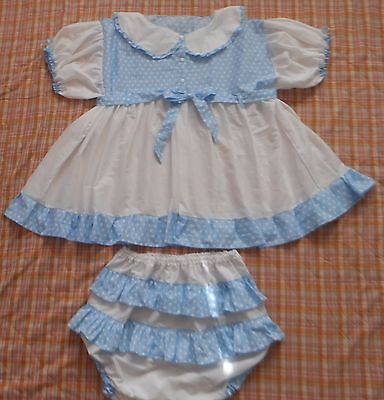 Adult Baby Two Piece Sissy Dress Set  ABDL