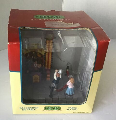 Lemax Carnival Strong Arm High Striker Game Spooky Town Halloween MIB 43441