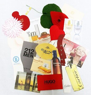 20 x Duftkarten / 20 x perfumed card / 20 x carte parfumée *LOT 001*