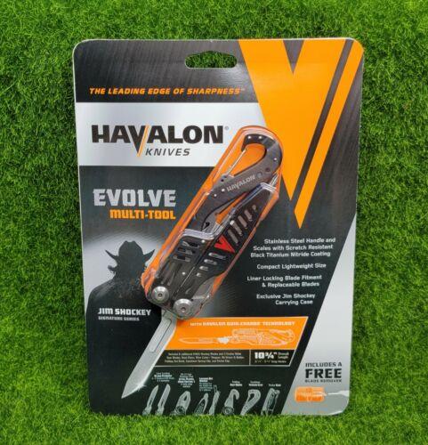 Havalon Evolve Hunting MULTI-TOOL 6 Blades 2 Saws Gut Hook Holster - XTC-60AMTS