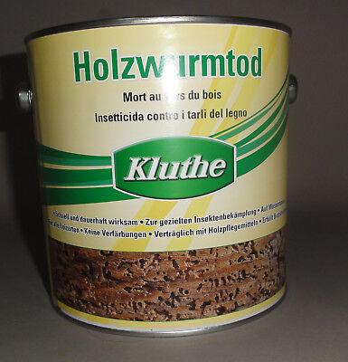 Kluthe Holzwurmtod 750ml Holzwurm Ex Holzschutz geruchsmild