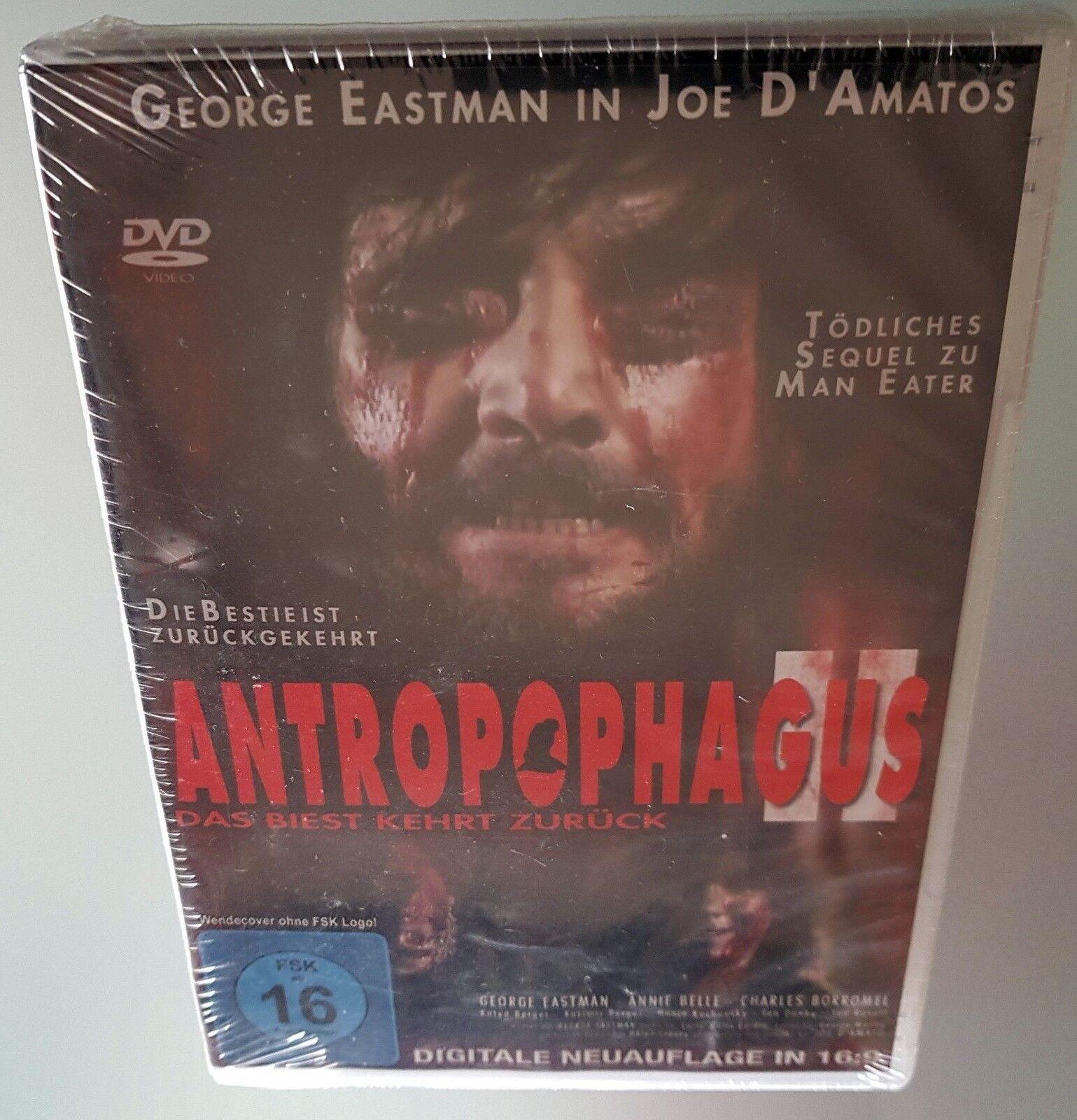Antropophagus II 2 Das Biest kehrt zuruck Dvd Edizione Germania Joe D`Amato