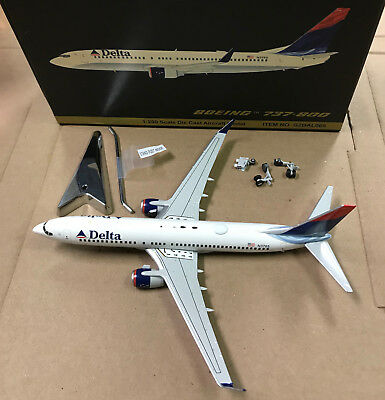 Delta Air Lines Boeing 737-800 1:200 Flugzeug Modell NEU B737 ABO-73780H-037