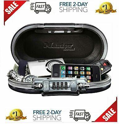 Best Security Box Safe Lock Cash Money Gun Jewelry Storage Safety Portable NEW