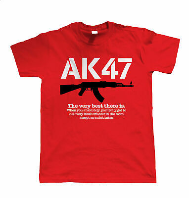 AK47 The Very Best There Is, Mens Gamer, Paintball or Airsoft T Shirt, Gift (Best Ak 47 Airsoft)