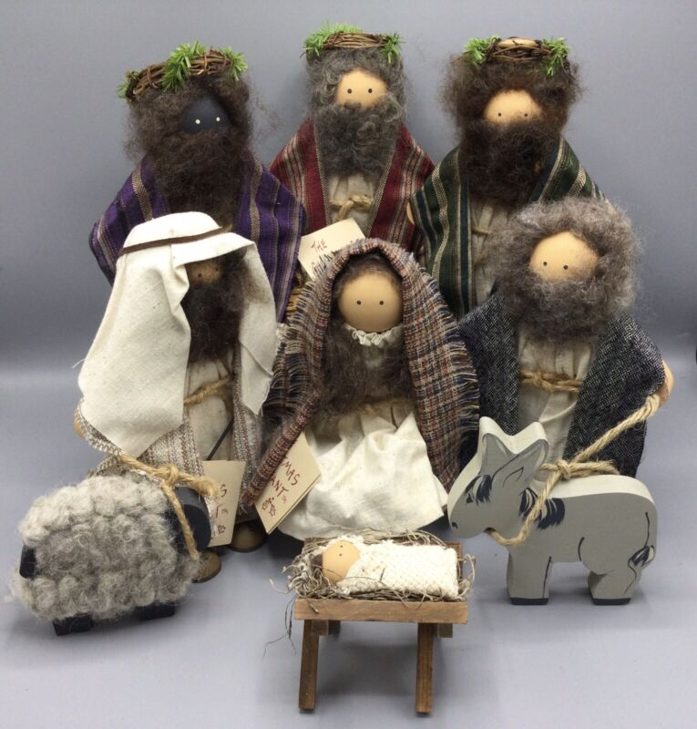 Lizzie High Dolls The Christmas Pageant Nativity Ladie & Friends - 10 pieces