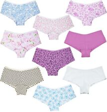 b1f50554a3e Lot 6 Womens Girl Hipster Boyshorts Panties Cotton Underwear Floral S M L XL