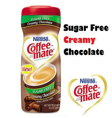 Nestle Coffee-Mate Coffee Creamer Sugar Free Creamy Chocolate, Pack of 1 Nestle Chocolate Coffee