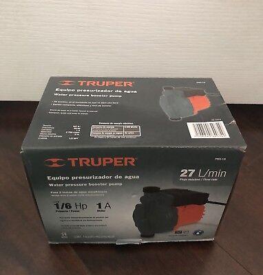 Truper Water Pressure Booster Pump New
