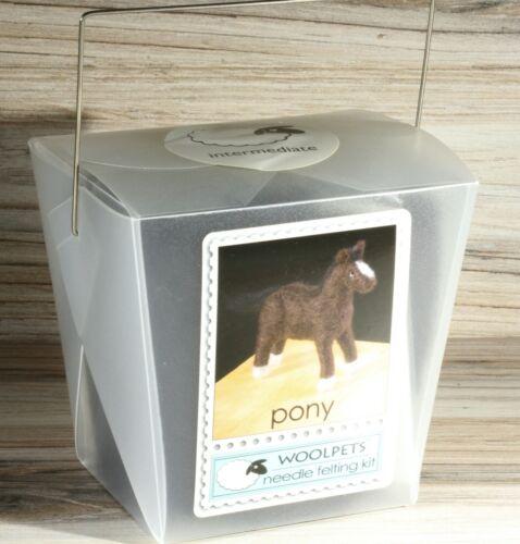 WoolPets Pony Needle Felting Kit