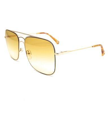 CHLOE Sunglasses CE140S 807 Gold Navigator Women 58x16x140