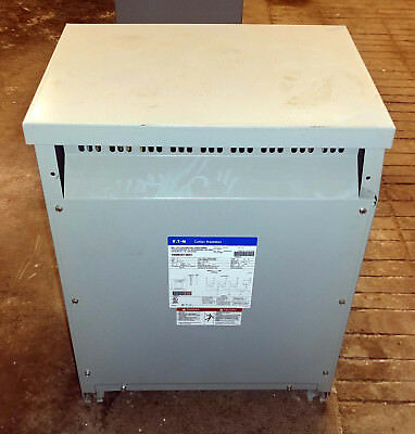 1 Used Eaton V48m28t30ee Dry Type Distribution Transformer Kva 30 Make Offer