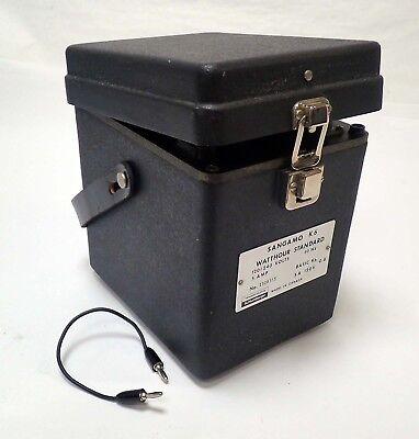 Sangamo Schlumberger K 6 Watthour Standard 120240 Volts 5 Amp Tested Working