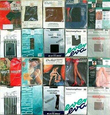 10 x STRUMPFHOSEN - MULTI-RABATT - ESDA - DISEE - VINTAGE - OVP - GR. 48 - 50 online kaufen