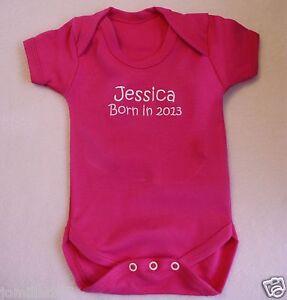NEW-Personalised-Baby-Girls-Vest-Bodysuit-Funny-Gift-Keepsake-ANY-WORDING