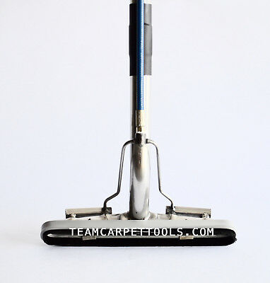 """14"""" 4-JET S-BEND Hard Surface Tile & Grout Cleaning BRUSH WAND Floor Scrubber"""
