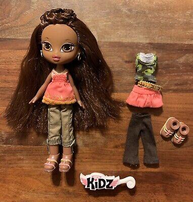 RARE Bratz Kidz Sasha AA Doll with Extra Outfit Belt Shoes Brush Pre-Owned EUC