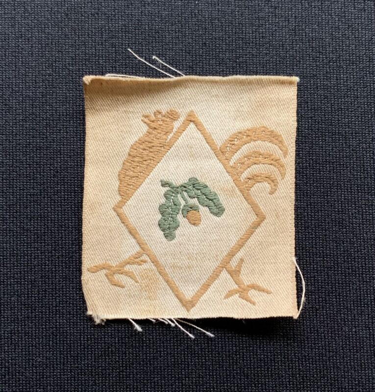 WW1 40th Division Formation Sign Cloth Badge x 100% Original