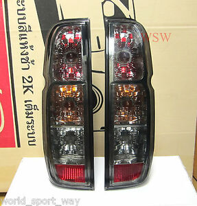 GENUINE DEPO SMOKE Tail Light FOR Nissan Frontier Navara D40 Rear Lamp 2005-2014