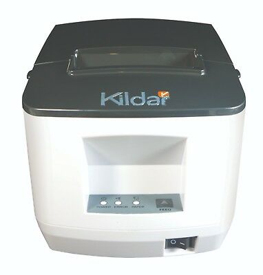 Receipts Thermal Printer W Cash Drawer Usb Serial Or Lan Ports Kildar I8071