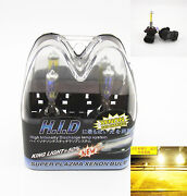 9006 Yellow HID Bulbs