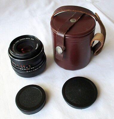 Carl Zeiss Jena electric MC Flektogon 35mm F2.4 M42 Weitwinkel Objektiv (124620)