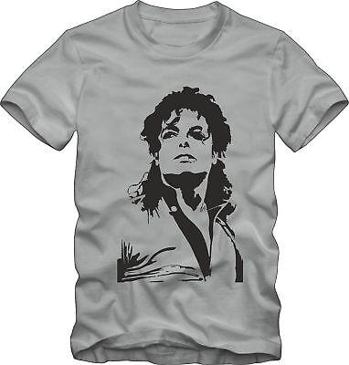 Michael Jackson   Rock T-Shirt . Rock Idol Jackson Shirt