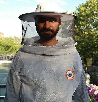 Beekeeping Suit Veil Jacket With Round Hat Great Protection Coverall