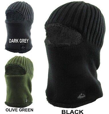 KBETHOS Sherpa Fleece Lined Face Mask Warm Winter Hat Balaclava Ski Snow KBH-17