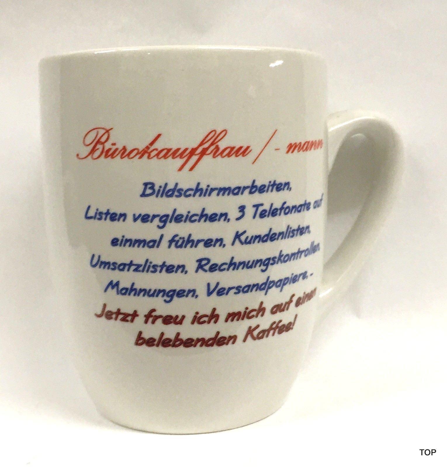 Cup Bürokauffrau Mann Handle Cup Coffee Mug Extraordinary Gift Idea