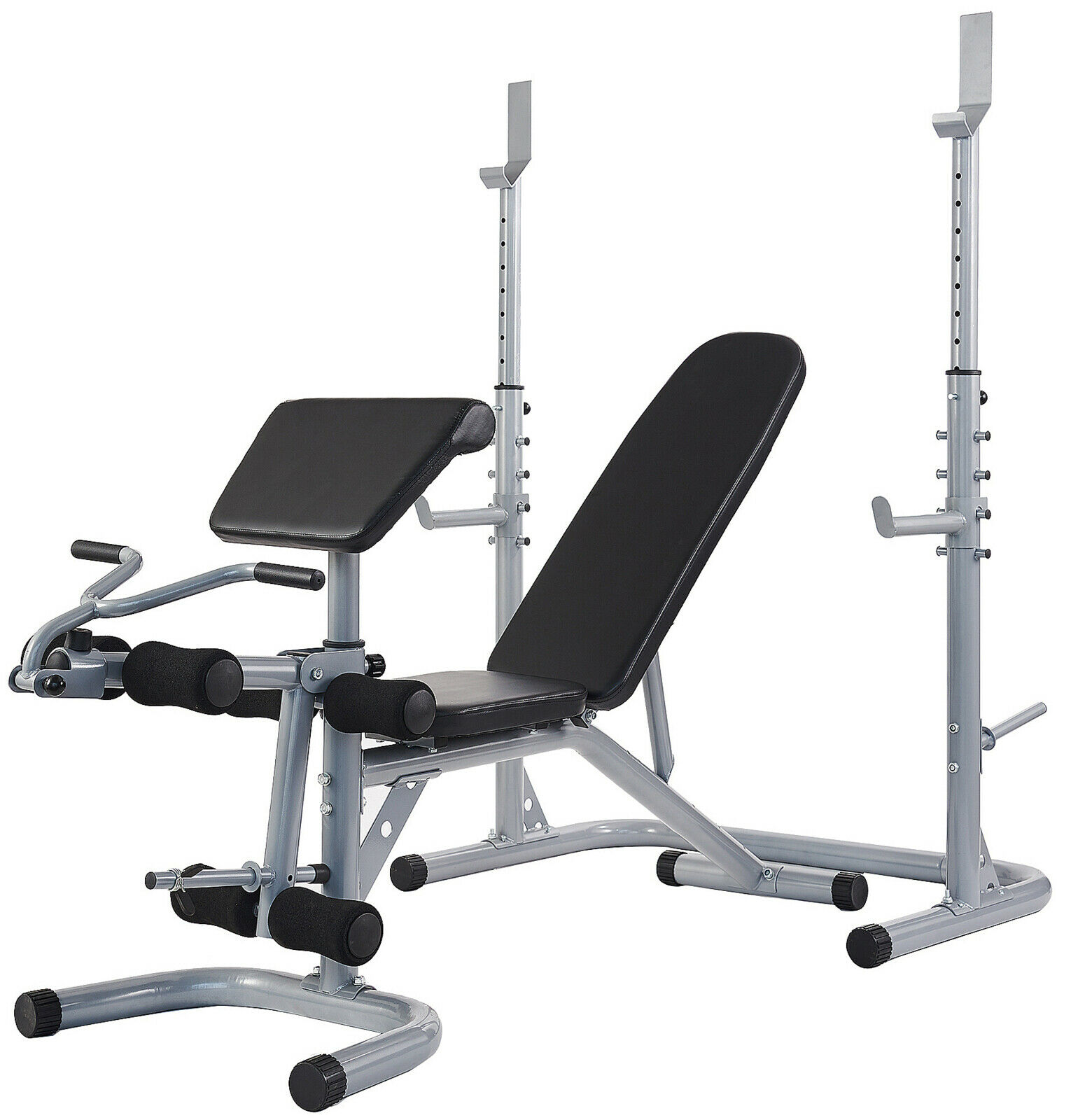 Multifunctional Workout Station Adjustable Olympic Workout B