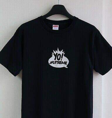 90s yo Supreme YO! MTV RAPS T Shirt 1999 Box LogoBlack size L
