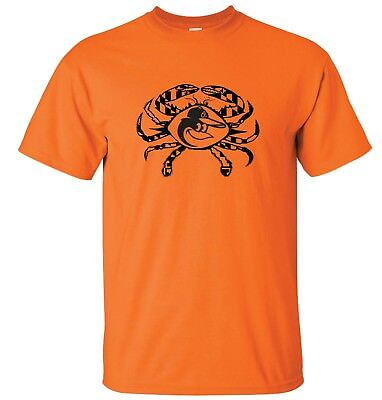 Baltimore Orioles Maryland Crab T Shirt Up To 5X