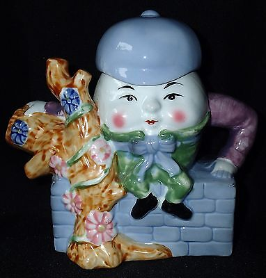 Humpty Dumpty Teapot Nursery Rhyme Feitx Baby Shower Gift Decorative