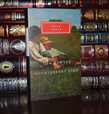 Tom Sawyer and Huckleberry Finn by Mark Twain  New Hardcover Deluxe Classics
