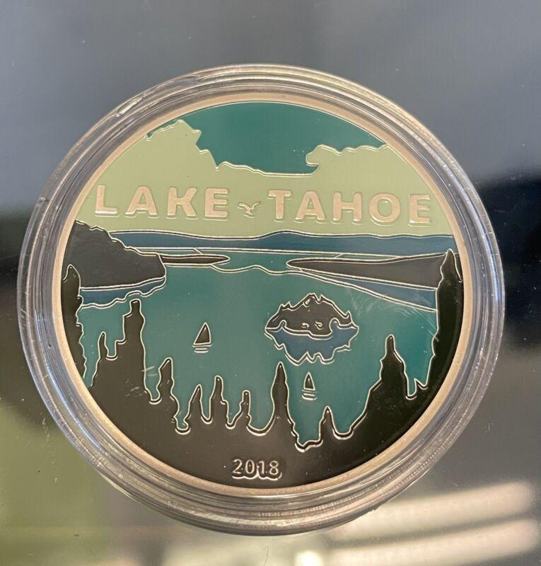 Fernet Branca Lake Tahoe 2018 Challenge Coin