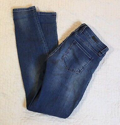 Kut From The Kloth Blue Jeans Women Sz 4, 30 Waist Mia Toothpick Skinny
