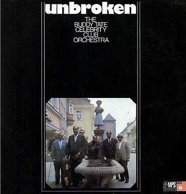 Buddy Tate Celebrity Club Orchestra - Unbroken / MPS LP
