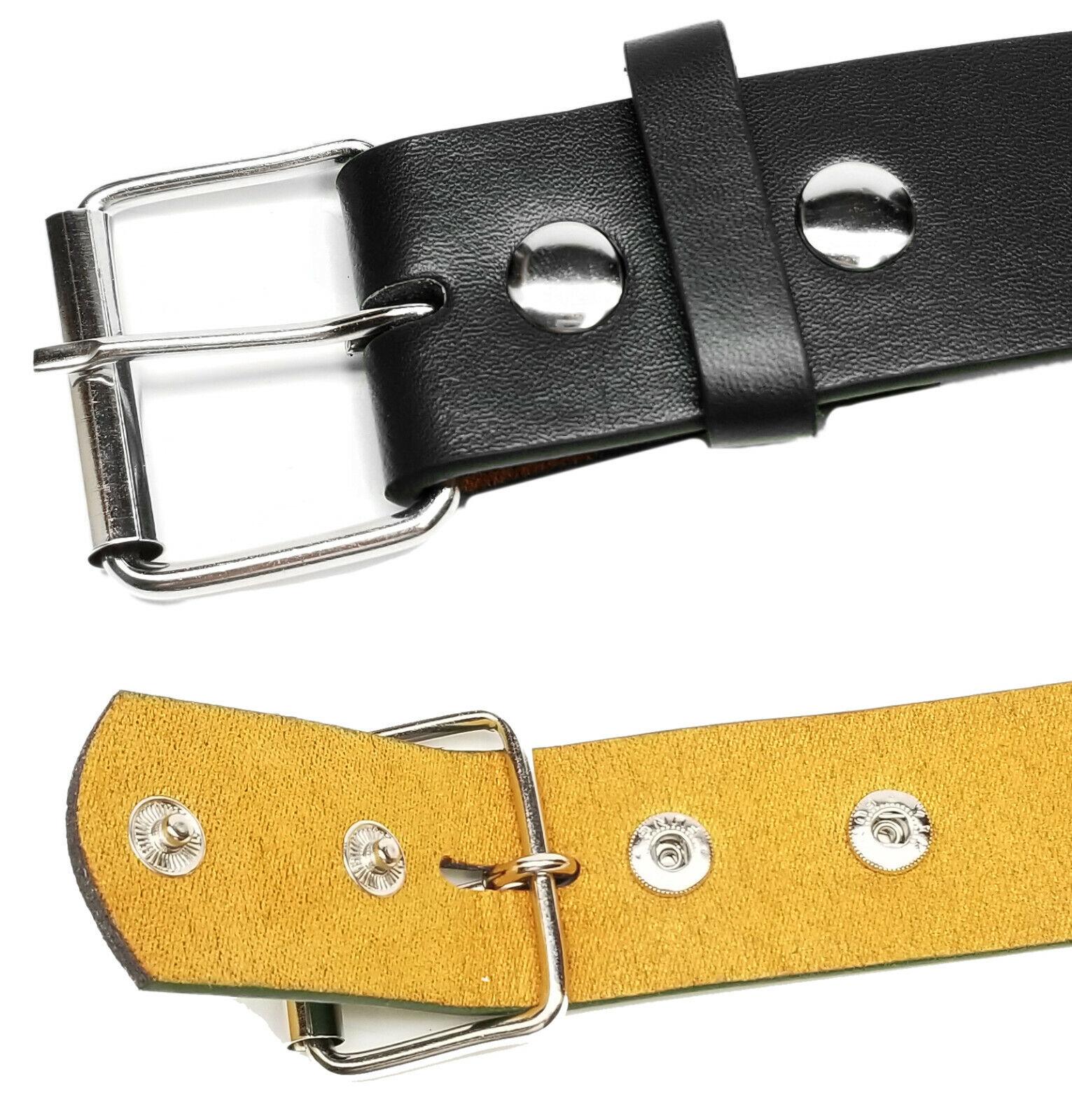 New Bonded Leather Belt Multi Color Golf Baseball Softball Removable Belt Buckle Belts