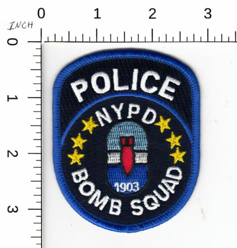 NEW YORK POLICE > BOMB SQUAD < PATCH NY NYPD