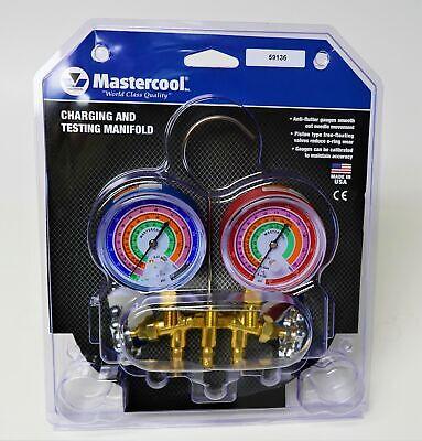 59136 Mastercool Ac Hvac Refrigeration Manifold W 36 Hoses R410a R404a R22