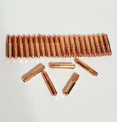 30 Pcs Mig Welding Gun Contact Tip 000-067 .023 For Miller Millermatic Hobart