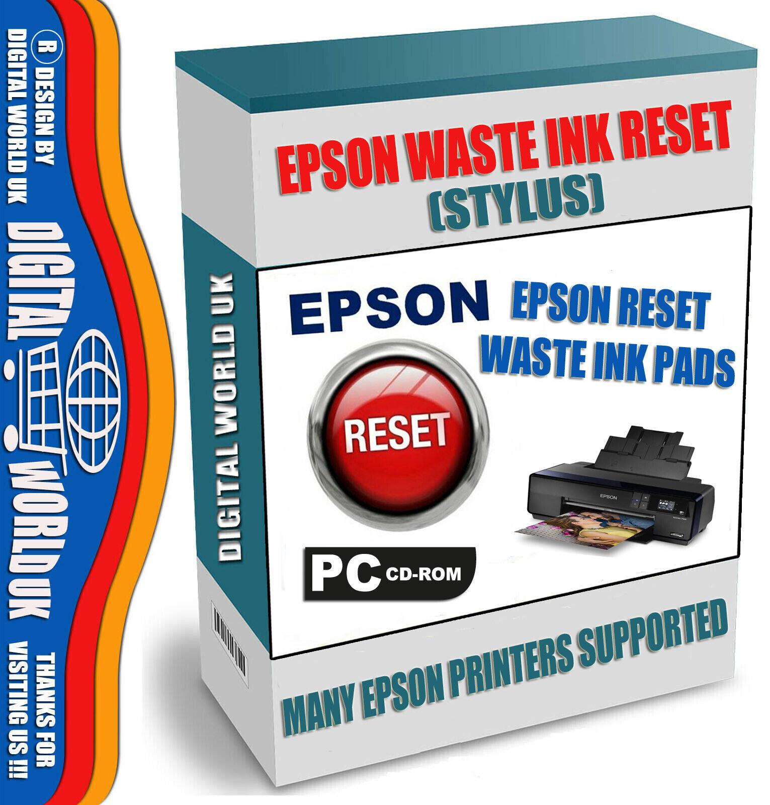 Epson R200 Reset