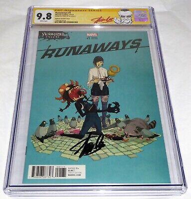 Runaways #1 CGC SS Signature Autograph STAN LEE Alphona Variant Cover 9.8 Venom