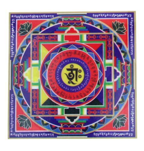 Feng Shui Mandala Wealth Window Sticker